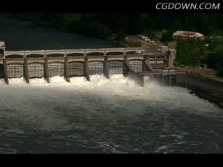 能源,工业,素材,实拍,水电站,视频素材