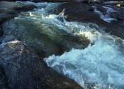 高清,溪水,青石板,流水,河水,石头上流水,小河边