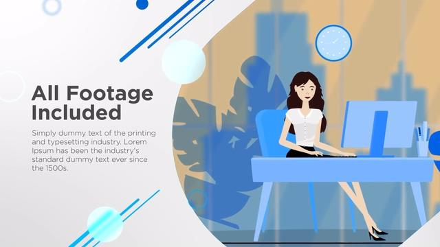 企业展示AE模板Corporate Video Template